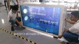 Verkaufsmöbel mit 55 Zoll-transparentem Bildschirm