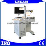 De draagbare CNC Laser die van het Metaal van de Vezel Machine op Telefoon merken