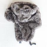 Chapéu Earflaps de lã de inverno de peluche
