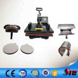 El Manual aprobado CE Combo multifunción 8 en 1 de la máquina de prensa de calor STC-SD08