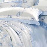 ホーム織物のOeko-Texの絹の柔らかく美しく継ぎ目が無い羽毛布団の慰める人セット
