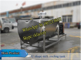 serbatoio orizzontale di raffreddamento del latte 2000liters (dispositivo di raffreddamento del latte di figura di U)