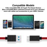 USB 3.0 Typ-c schnelles aufladensynchronisierungs-Daten-Kabel für MacBook