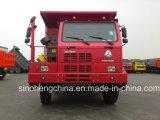 Sinotruk 371HP HOWO鉱山のダンプトラック6X4