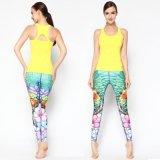 Спорт печати женщин задыхается пригодность Legging колготков йоги