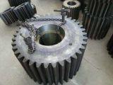 Rad-Gang-Zahntrieb des Kugel-Tausendstel-42CrMo4 Stahlzähne verhärteter