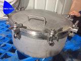 Chiusura dei coperchi a chiave di botola del serbatoio dell'acciaio inossidabile
