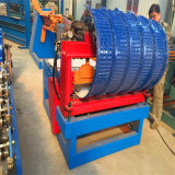 El panel de acero trapezoidal caliente de Dx que curva la máquina