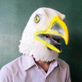 Высокое качество орла польностью головных животных латекса американское причудливый одевает вверх маски партии