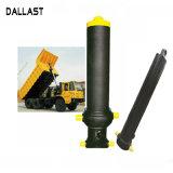 Melhor qualidade do cilindro hidráulico de ação simples para o caminhão basculante