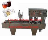 가득 차있는 자동적인 컵 충전물 및 밀봉 기계