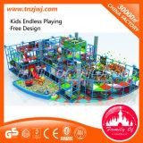 Estructura que juega plástica del castillo de interior del teatro de los niños para la venta