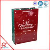 2016 sacs neufs de luxe de cadeau de papier de type de Noël chaud de vente avec 3D/Glitter/Foil