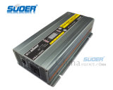 Suoer Solar Power Inverter 1000W Onda di seno modificata Power Inverter 12V a 220V Digital Inverter Display Power per uso domestico con l'alta qualità (HBA-1000C)