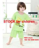 2.9 Dollor con le azione Short-Sleeved del vestito del cotone dei 6 bambini di colore