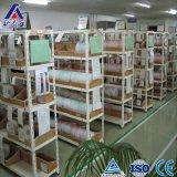 Mehrebenenfeuergebührenwinkel-Stahlregal für Plastiksortierfach