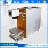 20W нержавеющие стали, металлы, ABS, машина маркировки лазера волокна пластмасс