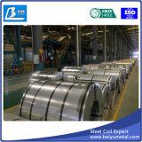 Bobine en acier galvanisée à chaud de matériau de feuille de toiture de construction