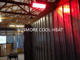 Resistente al agua Patio de cuarzo Calentador Calentador eléctrico con Comtrol remoto