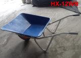 Wheelbarrow de alumínio do trole da mão da roda Tc1009 dois
