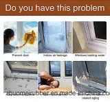 E la forma de Goma esponja brecha de la puerta de la ventana de bandas de sellado