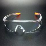 Обертываемый объектив Polycarbnoate материала защитные очки (SG126)