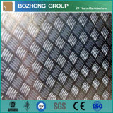 Plat Checkered en aluminium de la vente 5456 chauds