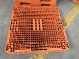 A dupla face empilhável, 1200X1200 paletes de plástico para empilhamento de armazém