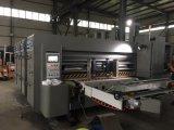 Automatisches 4 Farben-Pappe-Drucken-kerbende und stempelschneidene Maschine