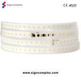 Lumière de bande flexible mise en pot de la colle à haute tension DEL de 2835 unités centrales avec du ce RoHS