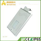 新しい20W穂軸の生命Po4電池およびセンサーが付いている統合された太陽街灯