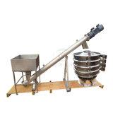 Вертикальный/склонен небольшой винт конвейера для кофейных зерен
