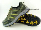 Sudeの網デザインの革安全靴