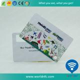 Cartão de etiqueta de chave de bagagem de impressão offset de PVC