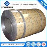 Bobina di alluminio ricoperta colore della lega HDPE/PVDF/Feve della costruzione dell'OEM