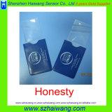 custom Company 로고 지갑 크기 PVC 북마크 돋보기 Hw804
