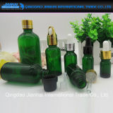 Blanco/Brown/botella de cristal azul/del verde del petróleo esencial con el cuentagotas