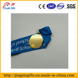 Medalla de encargo del regalo de la concesión del oro de la alta calidad para el recuerdo
