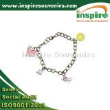 Armband van de Juwelen van de manier de Echte Zilveren Geplateerde