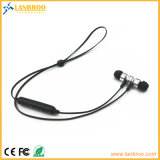 Som estereofónico Sweatproof do fone de ouvido sem fio magnético de Bluetooth da adsorção