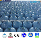 Cilindro de gas disponible portable del helio de la presión inferior para los globos