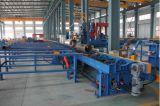 Máquina de corte e perfuração de flama e plasma de eixo do rolo do eixo
