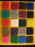 Hoja de goma antirresbaladiza colorida, estera de la bobina del PVC con el forro de la espuma