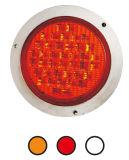 """LED 4"""" 둥근 정지 회전 테일 빛 Tl802"""