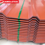 Galvanisierte Eisen-Dach-Platte/heißes eingetauchtes galvanisiertes gewölbtes Dach-Blatt