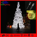 H: 5 m Ensemble de Noël Ball Motif Lighting Artificial Tree for Shopping Center LED Street Lighting