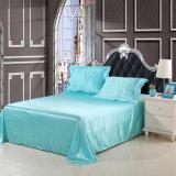 安いポリエステルサテンの絹の寝具セット