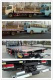 Foton 4X2 Slide Recuperación de la cama plana Tráfico Wrecker Camión de remolque