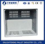 Caixa de pálete plástica exalada da alta qualidade grande para a agricultura