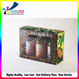 Commerce de gros prix d'usine Boîte en carton de pliage des cosmétiques pour le corps de l'huile